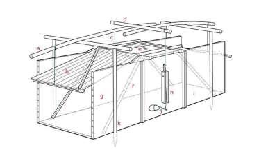 Värmlands-trap drawing