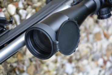 Superb fold back lens caps are supplied and seemed very durable in use, quiet too!