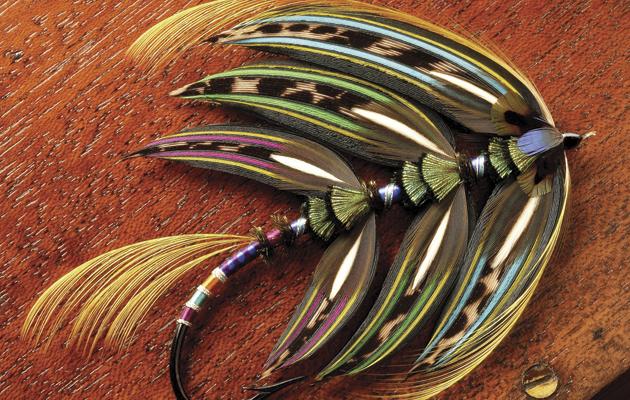 Classic salmon fly. Antony's Queen