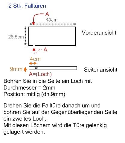 Marderfalle Kastenfalle Bauanleitung Bauplan