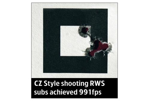 CZ style rifle