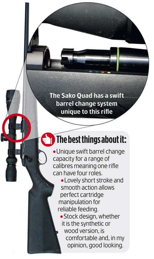 Sako Quad rifle