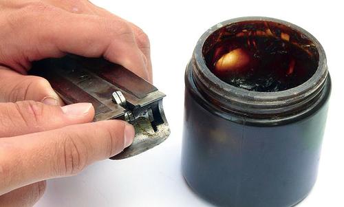 Cleaning a shotgun