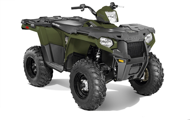 The best farm ATVs. Polaris Sportsman 570