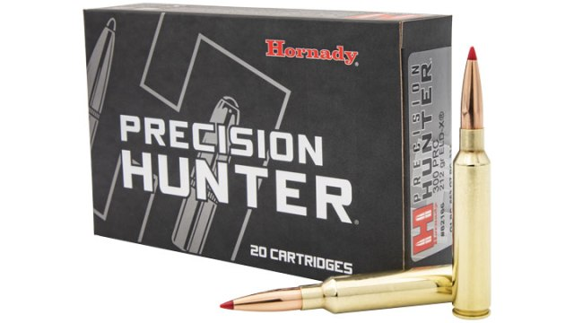 Unopened box of Hornady Precision Hunter